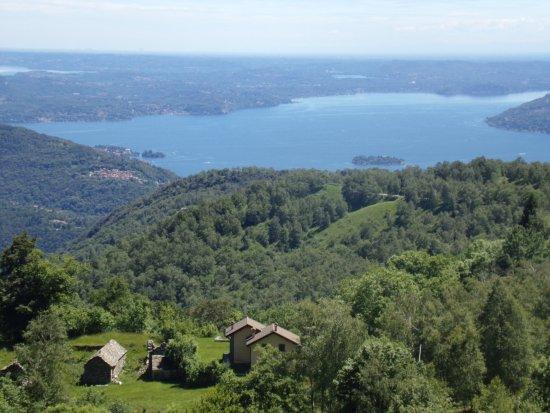 San Bernardino Verbano, Italia: View