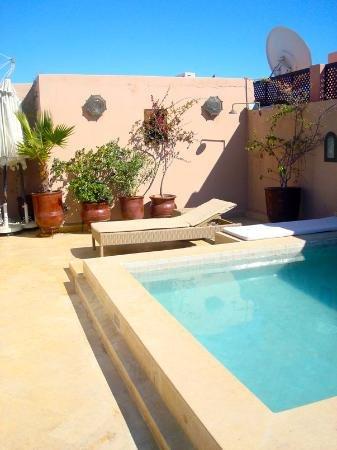 Riad le Desir: piscine