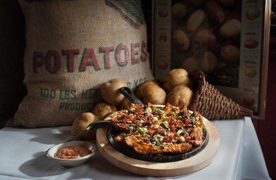 O'Connor's Restaurant & Bar: Our Legendary Potato Pizza