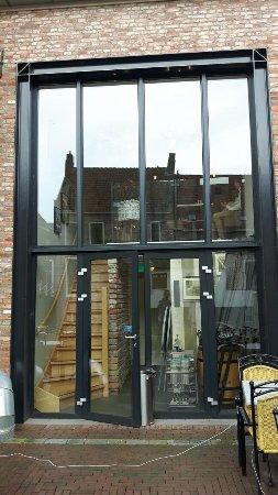 Appingedam, Belanda: Mooie locatie met uitzicht op de hangende keukentjes