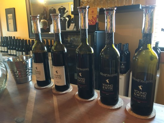 Young & Wyse Collection: Great wines. Beautiful setting!