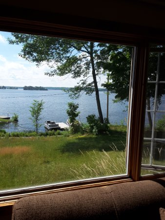 North Kawartha, Kanada: The view from our cottage