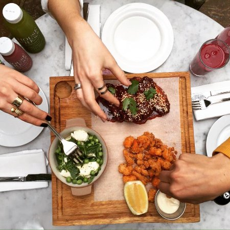 The Hoxton Grill : Sharing platters