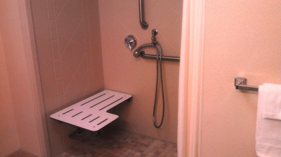 Greenwood, MS: ADA Accessible Roll-In Shower