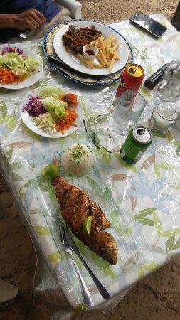 El Nido del Postre : Pescado, Carne y cerveza!