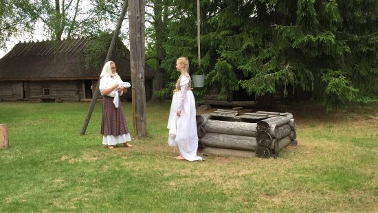 Voru County, Estonia: There was a nice school theater festival. Historical Museum and costumes matched perfectly! Than