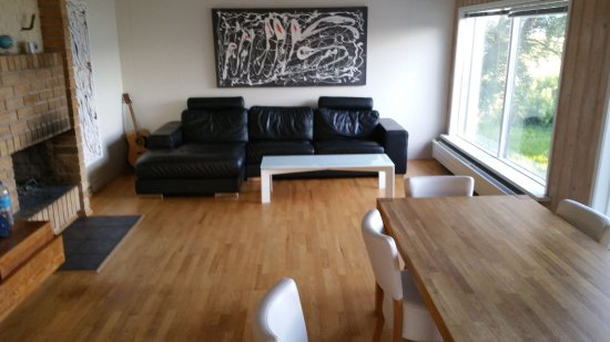 Bjarnargerdi Guesthouse : Lounge/living room