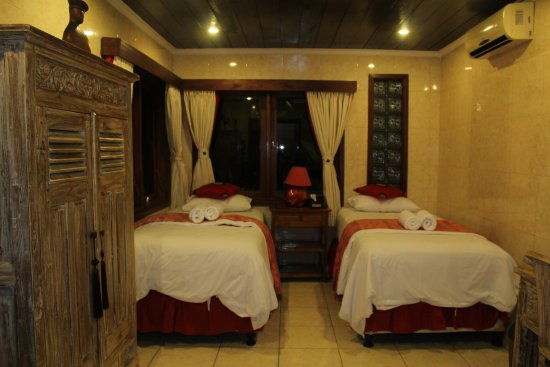 Kubu, Indonesia: the bedroom in Villa Alba Tulamben