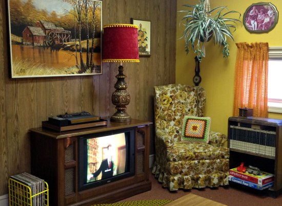Our beginner room, Escape the Decade, 1970's  A great place