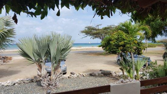 Aruba Sunset Beach Studios: View taken from porch of Ocean 2