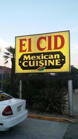 El Cid Mexican Cuisine: June 2016