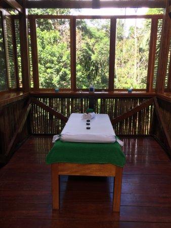 Refugio Amazonas: Massage room
