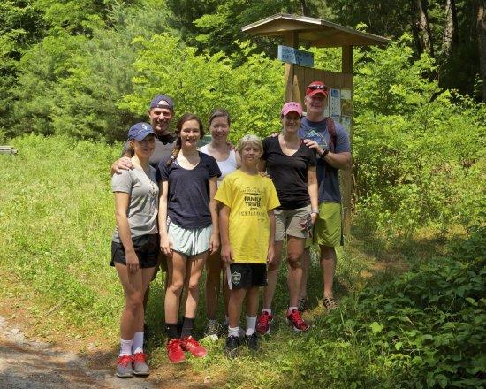 Lake Morey Resort: Trail head to Echo Mountain