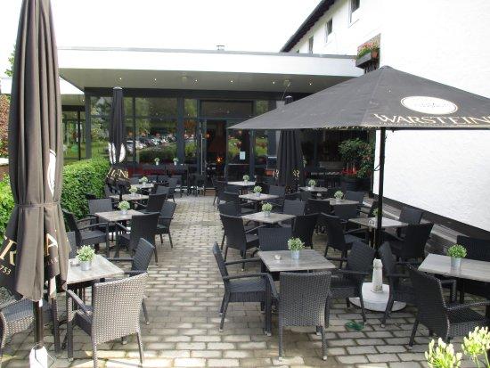 Hotel Winterberg: terras