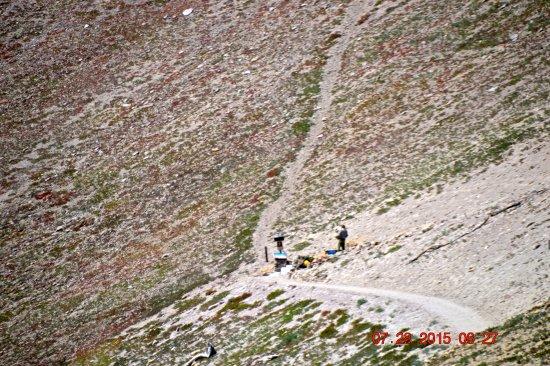 Shingletown, Kalifornien: Start of Trailhead to top of Lassen Peak