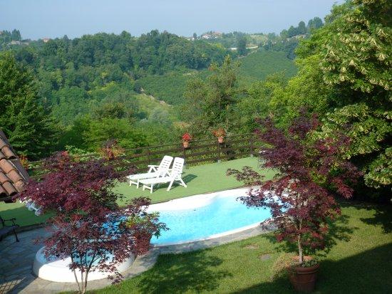 Locanda dell'Antico Cammino: Wij hadden de suite met dit uitzicht