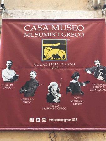 Casa Museo Accademia d'Armi Musumeci Greco
