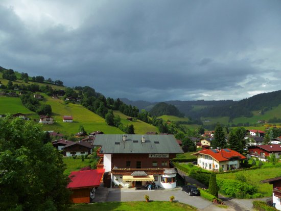 Hotel Hannes: view from balcony
