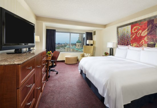 Indianapolis Marriott Downtown: King Guest Room