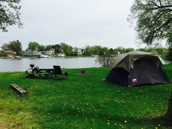 Green Lake, WI: Hattie Sherwood Campground