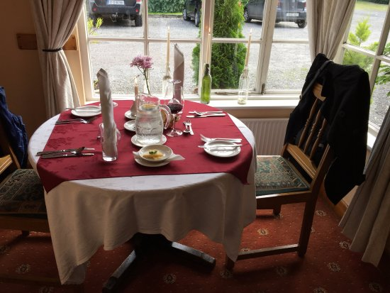 Dunderry Lodge Restaurant: Romantic nook