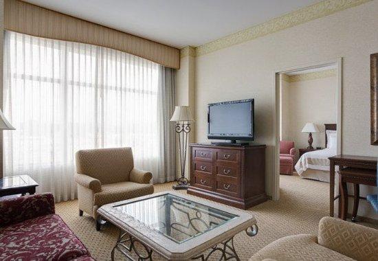 Redmond, واشنطن: Vice Presidential Suite – Living Area