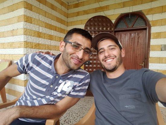 Ozsafak Pension: Basar (left), our friendly host