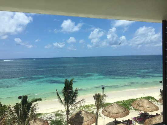 Breathless Riviera Cancun Resort Spa Veiw From Ocean Front Room