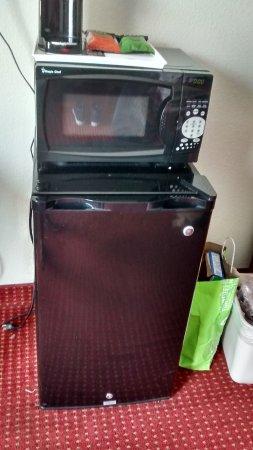 Marietta, جورجيا: The microwave and fridge