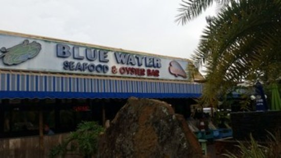Blue Water Seafood Restaurant Entrance