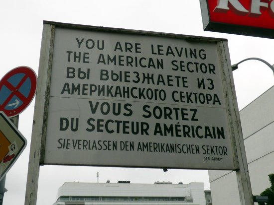 Alla Private Tours: old sign from the cold war era