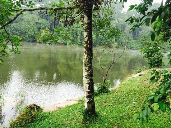 Lake Nkuruba Nature Reserve & Community Campsite: Lake Nkuruba