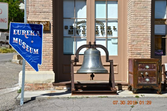 Bell Out Front Of Eureka Historical Museum