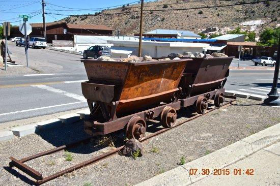 Mining Car Outside Of Eureka Historical Museum