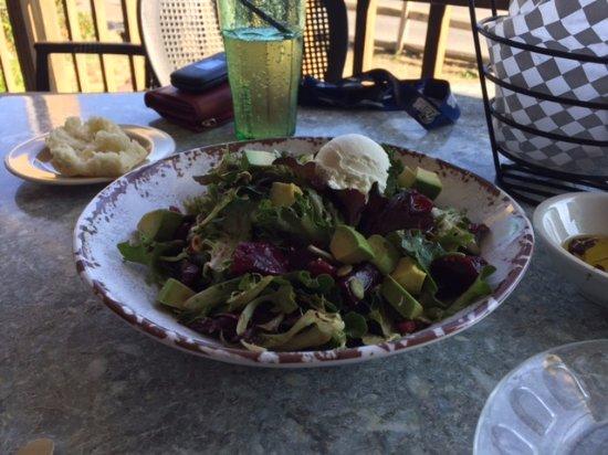Bookstore & Restaurant: Beet and cranberry salad