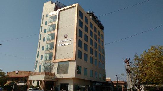 facade bild fr n chandra imperial jodhpur tripadvisor. Black Bedroom Furniture Sets. Home Design Ideas