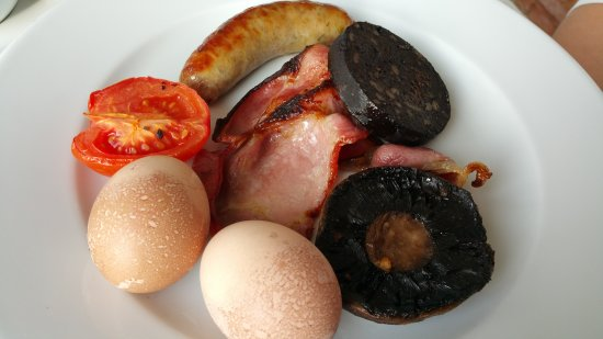 Restaurant at Cannizaro House: British Full Breakfast