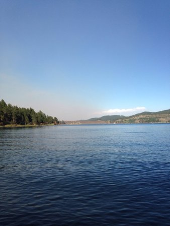 Pactola reservoir campground silver city sd omd men for Pactola lake cabins