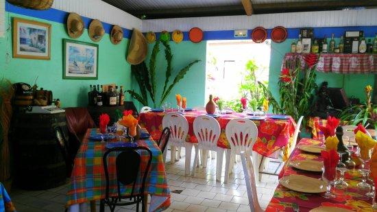 Le Morne-Rouge, Martinique: Ici tout est aux couleurs de La Martinique