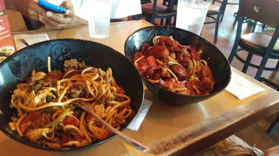 Genghis Grill The Mongolian Stir Fry: Good variety of food