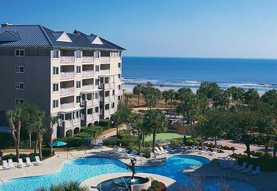 Marriott's Grande Ocean: Aerial