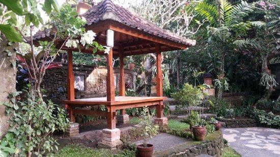 Kebun Indah: Garden area