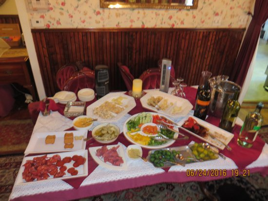 Angel of the Sea: cheese, meats, dip, and veggies of wine and cheese
