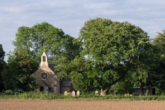Stewton, UK: A view of the church.
