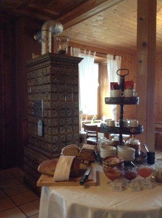 La Ferriere, Ελβετία: Breakfast room