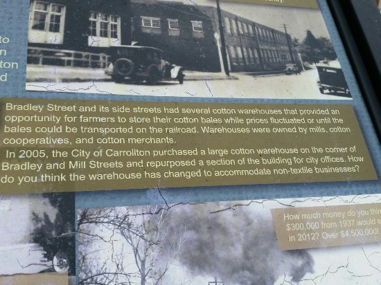 Carrollton, GA: Some of the signs and sights along the walking tour from Adamson Square