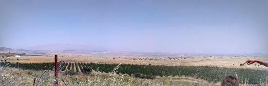 Merom Golan: Syrian side of the boarder