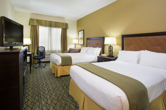 Holiday Inn Express & Suites Columbus Airport: Double Bed Guest Room