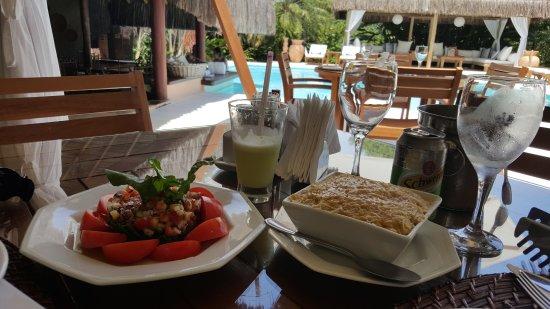 Villas de Trancoso: Comida deliciosa