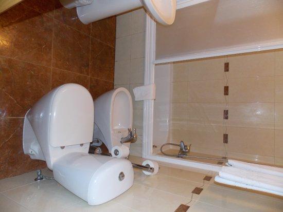 Grande Pensao Residencial Alcobia : Baño del hotel